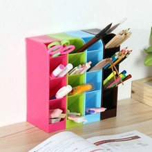 BF050 Colorful plastic multi box multifunctional sundries finishing desk storage 4case 20.5*9cm free shipping