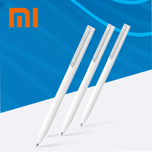 Original Xiaomi Sign Pens Mijia 9.5mm Signing Pens Add Mijia Pens Refill Black PREMEC Smooth Switzerland Refill MiKuni Japan Ink(China)