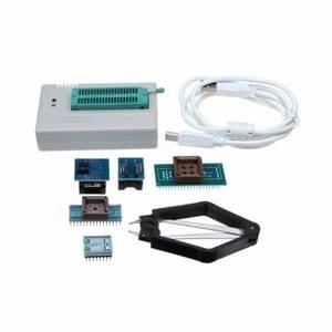 Image 3 - Nuovo originale di 100% V8.33 TL866II Più Universale Minipro 21 SIM Card e Adattatori Clip di Prova TL866 PIC
