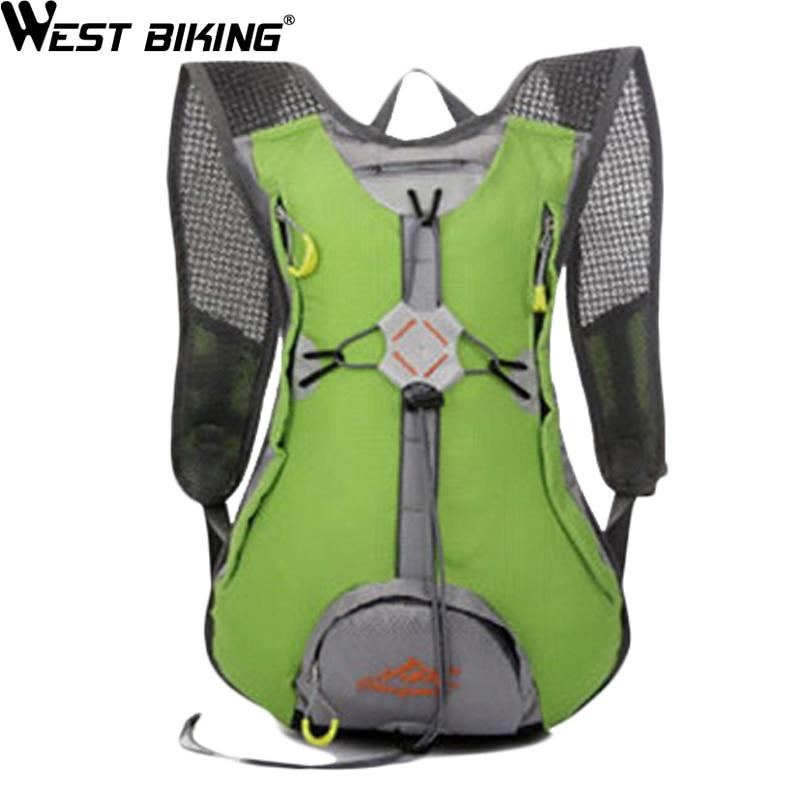 WEST BIKING Waterproof Nylon Sport Travelling Bags Hiking Backpacks Luggage MTB Camping Bicycle Cycling Climbing Backpack Bag