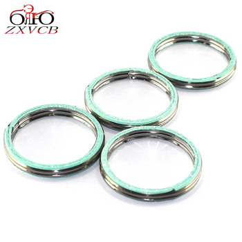 FOR HONDA CB1000 CB1000C/R/RA/RS CBR1000F CBR1000RA CBR1000RR CBR1000RRA CBR1000S/S1/S2/SA/SP motorcycle exhaust pipe gasket image