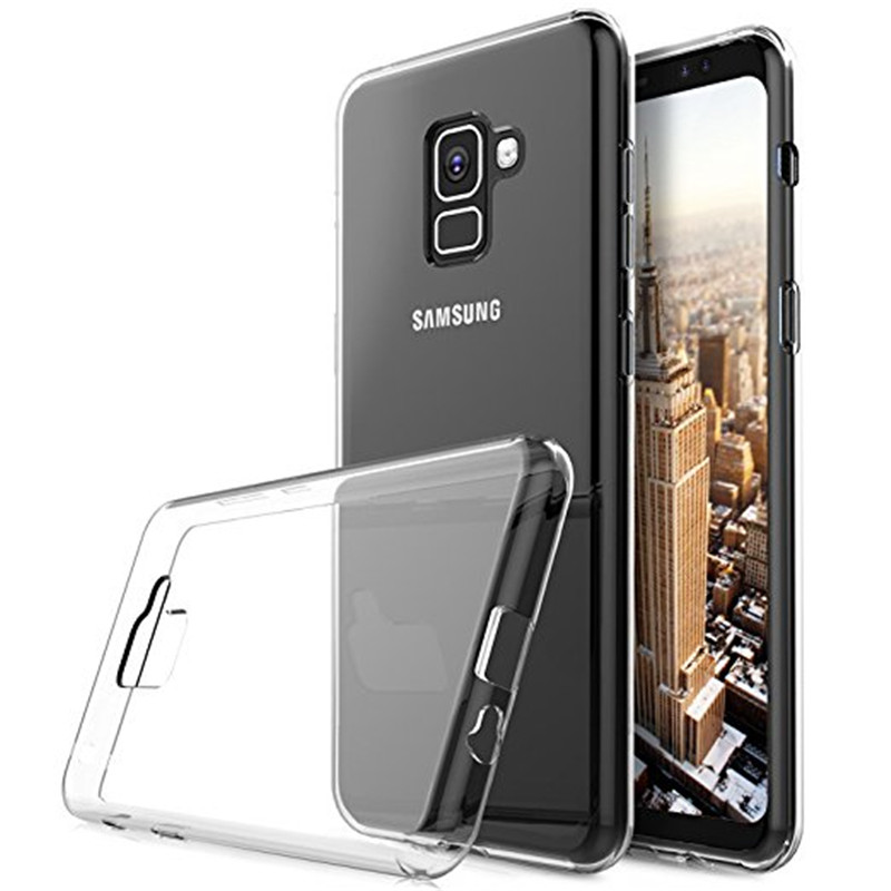 For Samsung Galaxy S9  S9 Puls Soft Transparent TPU Phone Case Silicone Back Waterproof Protector Cover For Galaxy S9 Puls