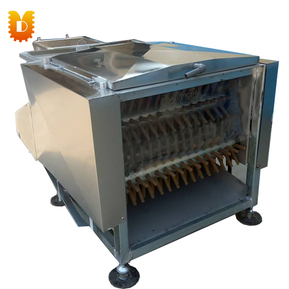 Big Capacity Poultry Plucker/Chicken Duck Goose Quail Feather Plucking Machine/Seven-roller Hair Removal Machine