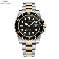 Men LGXIGE Watch Top Brand Luxury Gold Bracelet Clock mens 2019 Waterproof Male Wrist Watches relogio masculino invicta