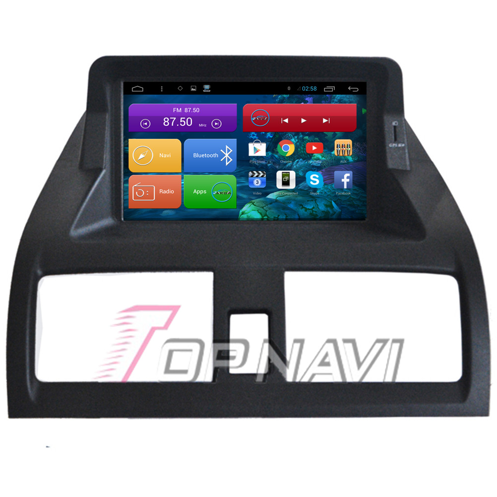 Top 7'' Quad Core Android 4.4 Car GPS for Accord 7 For Honda With Radio Stereo Map 16GB Flash Mirror Link Wifi BT Free Shipping