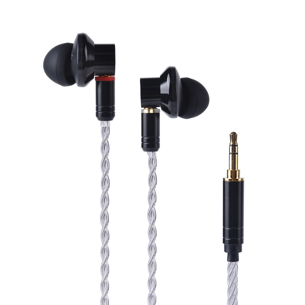 2018 YINYOO EP1 In Ear Earphone 12MM Dynamic Drive HIFI Bass Earphone DJ Metal Earphone Headset With MMCX Detachable Cable