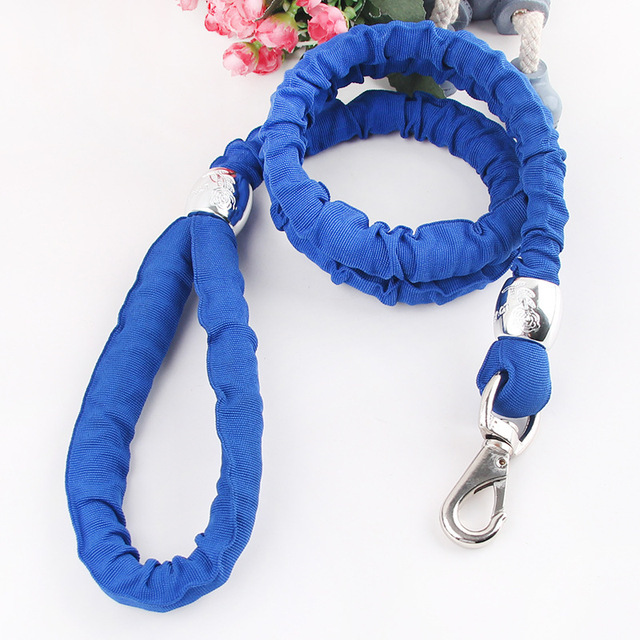 2014 New / Round Core pet leashes / medium dogs nylon elastic / Dog Accessories / neckband 2cm / Free Shipping