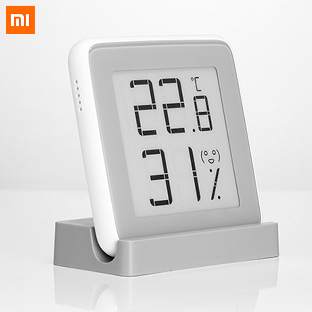 Xiaomi Mijia MiaoMiaoCe E-Link INK Screen Display Digital Moisture Meter High-Precision Thermometer Temperature Humidity Sensor