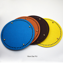 2019 New Fashion Weaving Shoulder Bag Bottom Tray Round Plate Replacement for Women Handbag Handmade Diy Accessories KZBT024