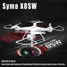 Original Syma X8SW Wifi FPV Quadcopter RC Drone With 720P HD Camera 2.4G 4CH 6-Axis Barometer Set Height RTF(China)