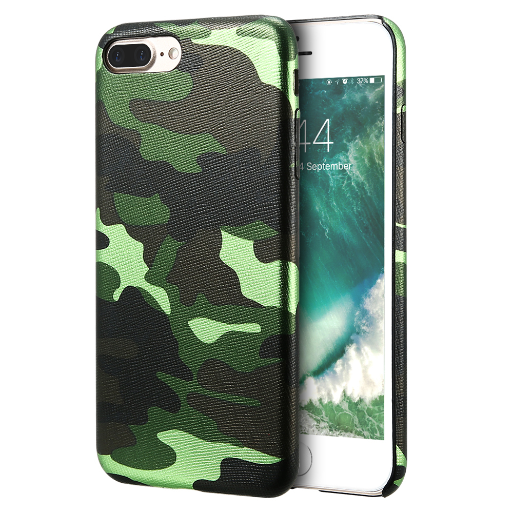 KISSCASE Camouflage Case For iPhone 7 7 Plus Case iPhone X 6 6s Plus Cases Ultra Thin Leather Cover For iPhone 6s 6 Coque Fundas
