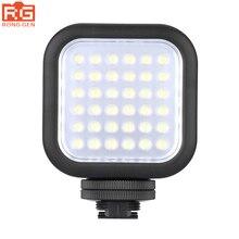 الأصلي Godox LED36 LED الفيديو الضوئي 36 LED أضواء مصباح الإضاءة التصوير الفوتوغرافي 5500 ~ 6500K ل DSLR كاميرا فيديو مسجل فيديو رقمي صغير