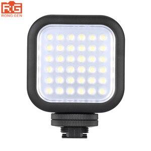 Image 1 - Orijinal Godox LED36 LED Video Işığı 36 LED Işıkları Lamba Fotografik Aydınlatma 5500 ~ 6500 K DSLR Kamera Kamera için mini dvr