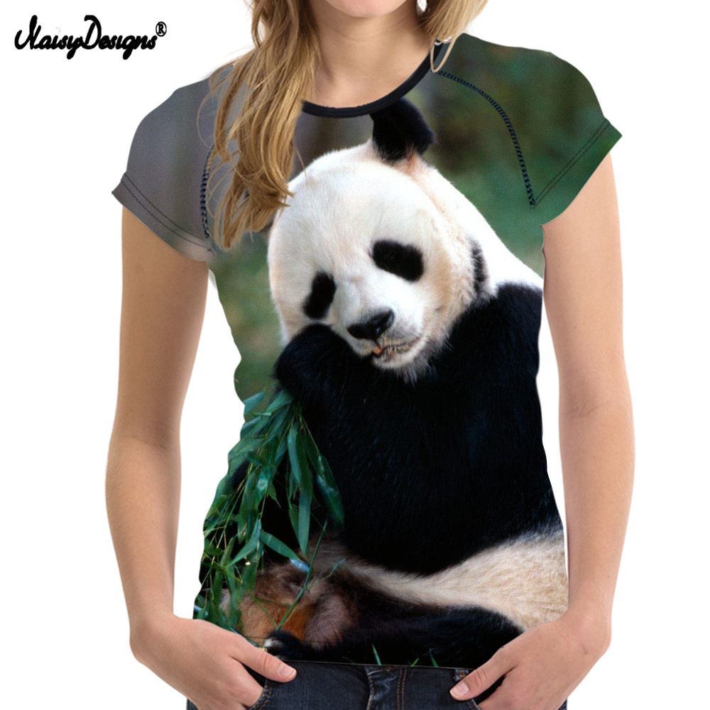 Bestfriend Cute 3D Panda Women T Shirts For Teenager Girl Short Sleeved Women Tops Bodybuilding Slim Female Shirt Woman Cloth