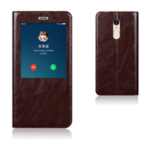 Top Quality Genuine Leather Smart Cover Case For Xiaomi Redmi Note 4 Luxury Flip Stand Mobile Phone Bag + Free Gift