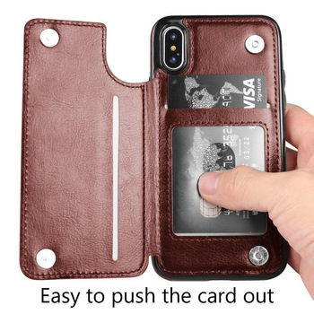 iPhone Leather Flip Case  2