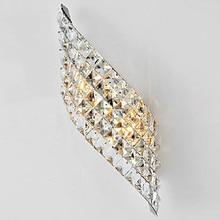 Wandkandelaar Moderne Led Crystal Wandlamp Met 2 Lichten Voor Thuis Verlichting Wandkandelaar Arandela Lamparas De Pared