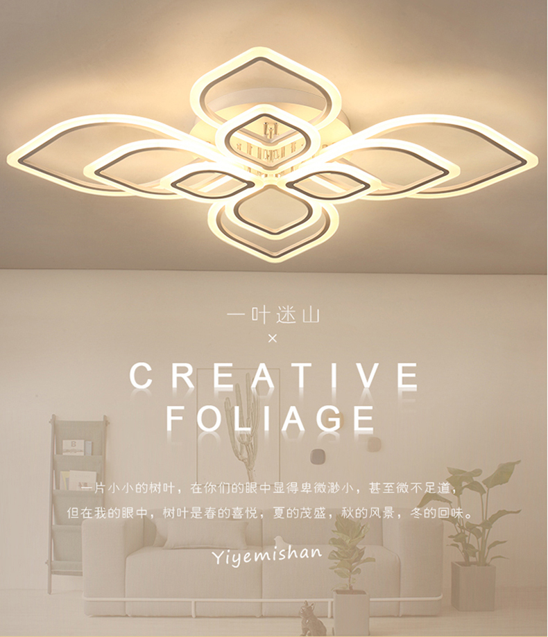 HTB1criOXLfsK1RjSszbq6AqBXXap Modern Chandeliers Led to Living Room Bedroom Dining Room Acrylic Ceiling Lamp Chandelier Home Indoor Lighting
