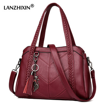 Luxury Handbags Women Bag Designer Leather Handbags Sac A Main Women Crossbody Messenger Bag Casual Tote Sac Shoulder Bag Female 1