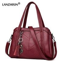 Luxury Handbags Women Bags Designer Leather Handbags Sac A Main Women Crossbody Messenger Bag Casual Tote Sac Shoulder B