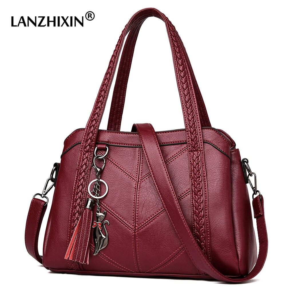 Sacs à Main de luxe femmes sacs Designer sacs à Main en cuir Sac A Main femmes bandoulière Messenger Sac décontracté fourre-tout épaule B
