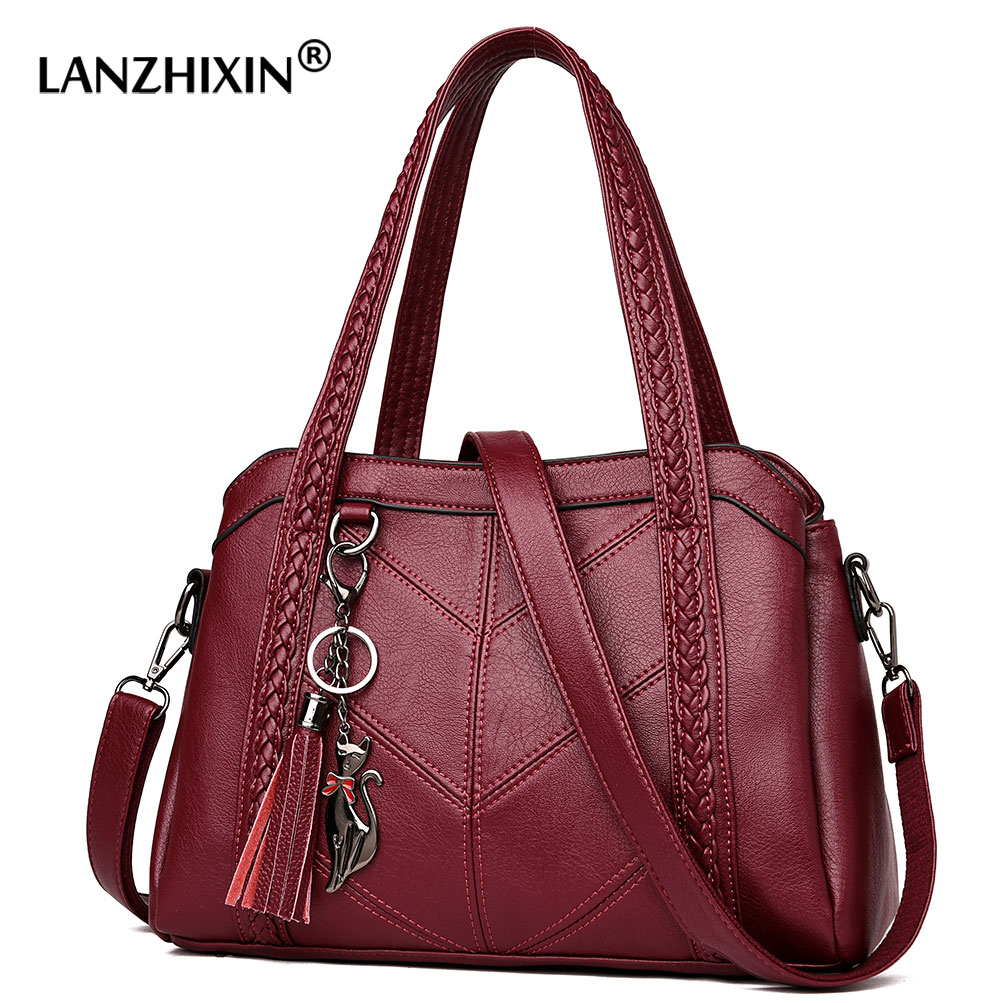Women Bags Messenger-Bag Sac Casual Tote Shoulder Main Designer Leather title=