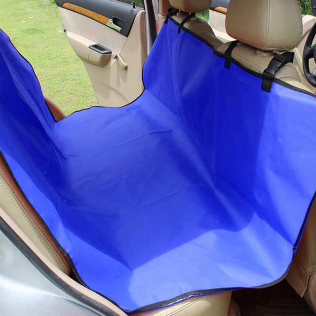 Pet Car Seat Cover Water-resistant Non-slip Hammock Interior Mat Adjustable Straps Unique Hammock Design 135 x 135CM Universal