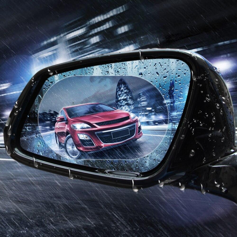 Универсальное автомобильное зеркало заднего вида Защитная пленка для opel astra j peugeot 307 bmw e46 kia cerato nissan teana seat ibiza аксессуары