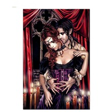 Diamond Diy Painting Full Square Drill 5D Victoria Frances Vampires Home Decor Wall Art Craft Embroidery Pictures Cross Stitch