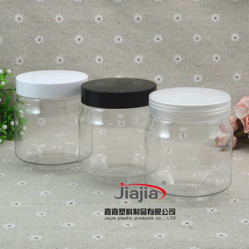 wholesale 300ml empty Candy Boxes Food Storage Chocolate Can,50pcs Wholesale 10 oz clear Plastic Pot PET Box