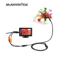 MARVIOTEK AV 5V 5 5mm Dia IP66 Waterproof Car Endoscope 4 3 Inch TFT Monitor 1m