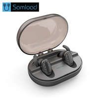 Samload Wireless Bluetooth Headphones In Ear Subwoofer Earbuds Stereo Earphones Sport Headphones Microphone For Mobile Phones