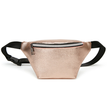 2019 Summer Fashion and Simple Waist Packs Rose Gold Unisex bag Bicycle Cycling Waterproof Money Belt Bag fanny packs
