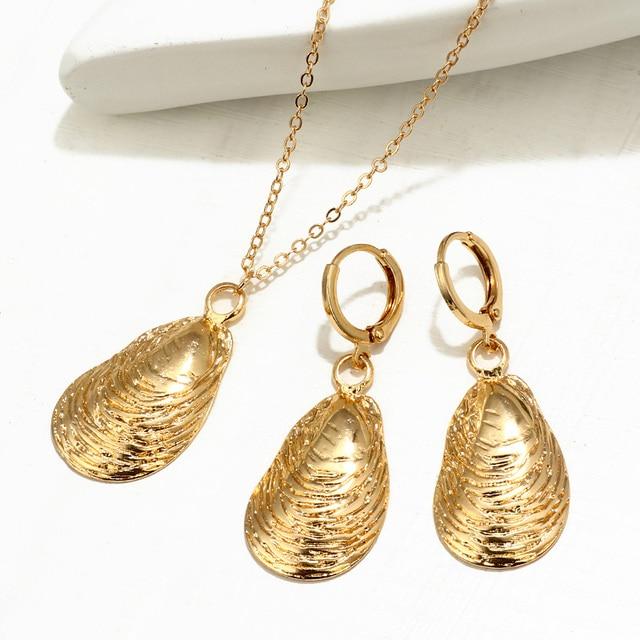 ZOSHI Gold Cowrie Shell...