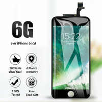 Grado AAA LCD para iphone 6 Pantalla táctil digitalizador reemplazo completo montaje para iphone 6 Lcd Ecran Pantalla con herramientas