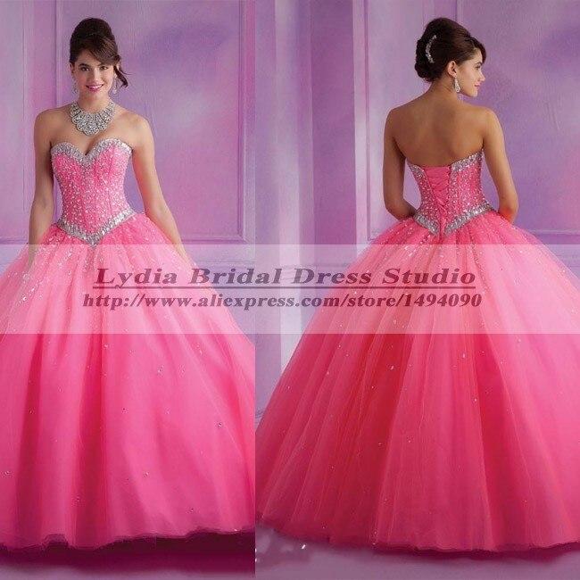 c9533e0e3 Vestidos De Quinceanera Hot Pink Quinceanera Dresses 2015 Vestido De 15  Anos Sweet 16 Dresses Quinceanera Dresses Ball Gowns