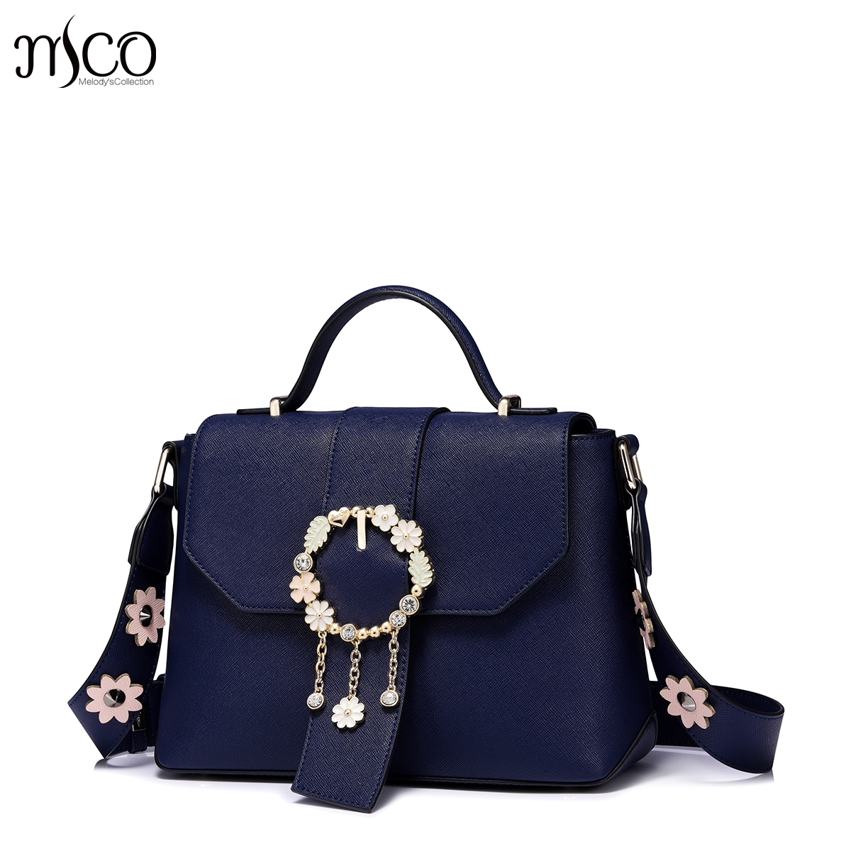 505bb789dc39 2017 Delicate Flower jewelry luxury handbag women bags designer brand  shoulder female small crossbody bag for