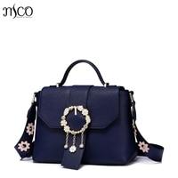 2017 Delicate Flower jewelry luxury handbag women bags designer brand shoulder female small crossbody bag for girls Flower strap