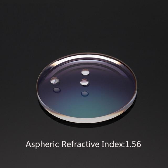 Prescription Lunettes Personnaliser En Ligne Indice de Réfraction 1.56  Asphérique Anti-Bleu clair UV400 38162592bc34