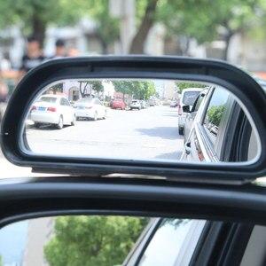 Image 2 - Retrovisor universal para ponto cego automotivo, espelho auxiliar ajustável para automóveis