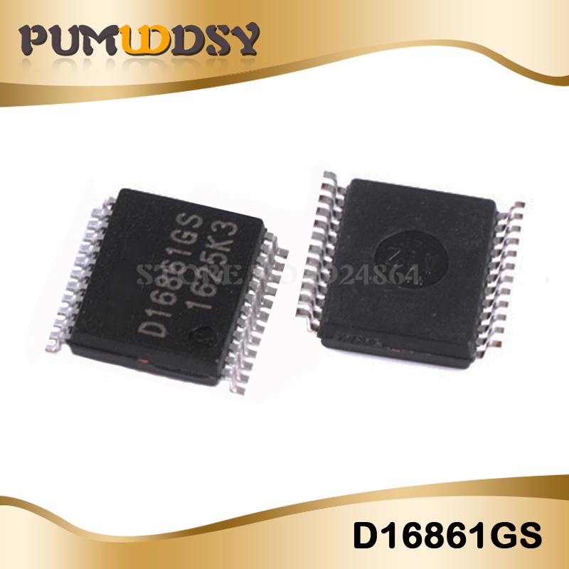 2CPS/LOT D16861GS D16861 16861GS 16861 SSOP24 IC2CPS/LOT D16861GS D16861 16861GS 16861 SSOP24 IC
