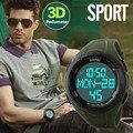 Led Digital Sport Reloj de Los Hombres Al Aire Libre Militar Casual Relojes Podómetro Calorías Reloj Cronógrafo Relojes de Pulsera