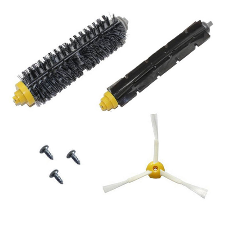 10 set de Brosse pour iRobot Roomba 600 700 Series 620 630 650 660 Flexible Poils Brosse pour Aspirateur Roomba 760 770 78