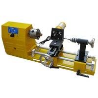 80mm Chuck 600W Motor Mini Lathe Machine Small Woodworking Lathe for DIY
