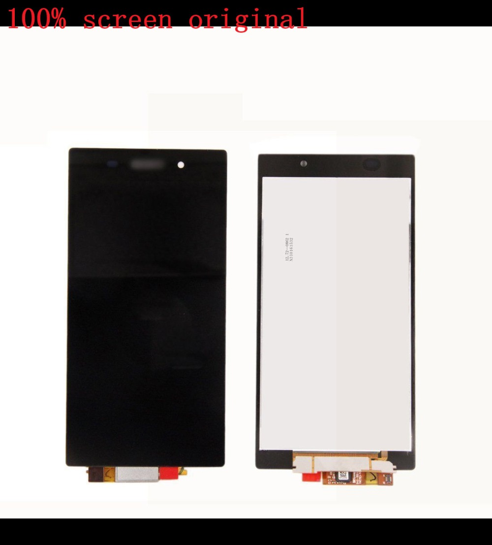For Sony Xperia Z1 L39H L39 LCD Screen Display Touch Screen Digitizer Assembly c6902 c6903 LCD   Black 1 pcs l39h black lcd display touch screen digitizer assembly for sony xperia z1 l39h c6902 c6903 free shipping
