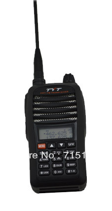 TYT TH-UVF1 With Scrambler Dual Band VHF:136-174MHz & UHF:400-470MHz FM Handheld Walkie Talkie With Car Charger 1800mAh Battery