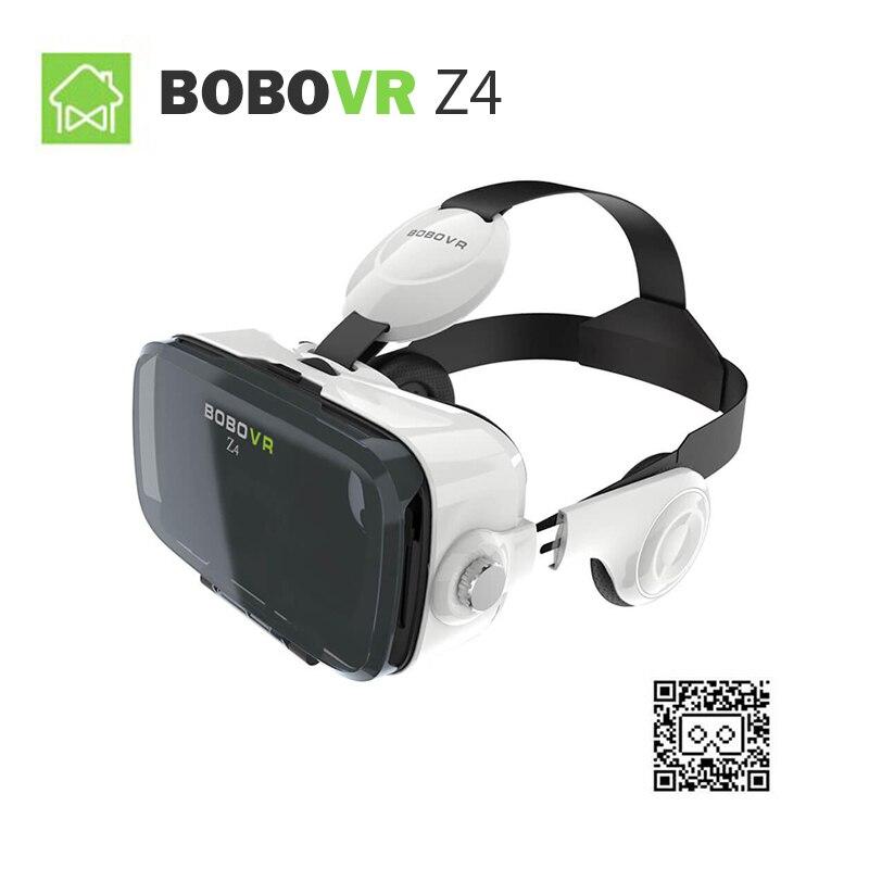 (Корабль из ru) xiaozhai bobovr Z4 виртуальной реальности 3D Очки fov120 VR Гарнитура 3D VR Очки игры VR коробка для Xiaomi для Iphone