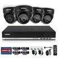 ANNKE HD 4CH Системы ВИДЕОНАБЛЮДЕНИЯ Комплект 720 P DVR 4 ШТ. 1200TVL ИК Открытый Безопасности Камеры Системы 4 Каналов Видео Surveillance Kit