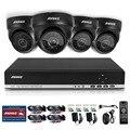 Conjunto annke hd sistema de cctv 4ch 720 p dvr 4 pcs 1200tvl ir ao ar livre sistema de câmera de segurança de vídeo de 4 canais kit de vigilância