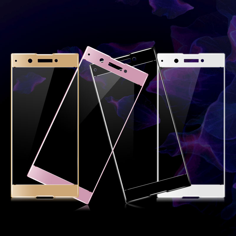 Imak 9H 2.5D Screen Protector Film For Sony Xperia XA1 Full Cover Tempered Glass for Sony XA1 Dual Sim G3112 G3116 G3121 G3125